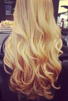Golden Blonde Hair Tumblr