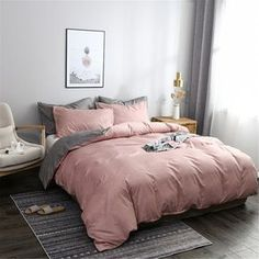 Many people search for the perfect winter bedding for the colder, frosty months! It's clear that winter is well and truly in our midst and you certainly cannot beat climbing into a warm, comfy bed with flannelette sheets and a… Continue Reading → Pink And Grey Bedding, Pink Comforter Sets, Pink And Grey Room, Comforter Cover, Pink Bedding, Duvet Cover Sets, Bedding Sets, Rose Gold Comforter, Rose Gold Duvet Cover