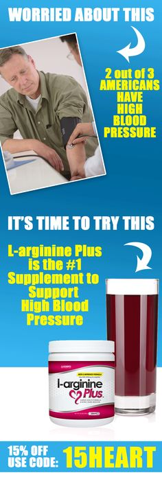 15% Off L-arginine Plus to Help Lower Your Cholesterol and Blood Pressure - https://www.l-arginine.com