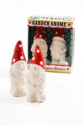 Garden Gnome Salt & Pepper Shaker Set