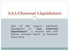 Overstock Clearance|Wholesale Liquidators|Closeout Liquidators