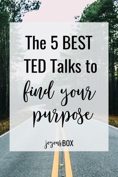 5 Motivational TED Talks to Help You Find Your Purpose Let's look at some refreshing advice from these awesome TED Talks that can help you find your purpose and explore your passion (or passions)… Self Development, Personal Development, Live For Yourself, Finding Yourself, Discover Yourself, Best Ted Talks, Pep Talks, Burn Out, Self Discovery