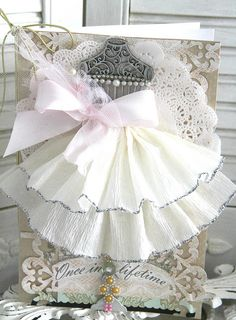 Webster Pages Wedding Card by Emeline Seet, via Flickr