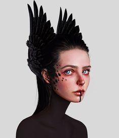 Laura H. Rubin is a digital artist and illustrator based in Bern, Switzerland. Lauren describes herself as a Visual FX Artist & Graphic Designer A Level Art, Digital Art Girl, Surreal Art, Portrait Art, Digital Illustration, Pixel Art, Art Sketches, Art Prints, Instagram