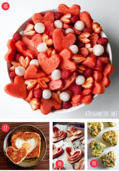 The best Valentines Day food ideas for kids. Learn how to make these fun and easy recipes for your family including cute ideas for breakfast, lunch, healthy snacks, sweet treats and desserts. Enjoy at home or bring into your child's school classroom to share with their friends!