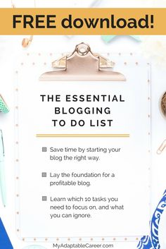 Start a money making blog using this blogging checklist as a guide.
