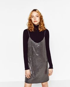 SEQUINNED DRESS - Available in more colours