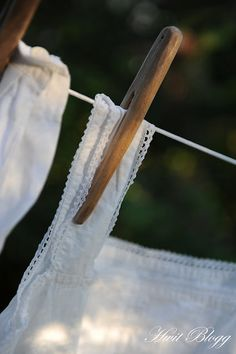 <3  i love clothes on the line;  remind me of fresh airy breezes rifling through my hair on a gorgeous summer day :)