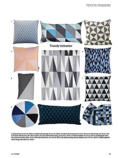 pillow geometric...