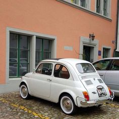 The Perfect Car For Narrow Old Town Love Whitewall Tires By