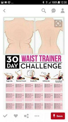 Waist /butt/arms/legs