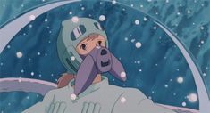 nausicaa of the valley of the wind gif - Google Search