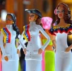 Bellezas criollas en arcillas, Venezuela y sus mujeres mestizas pero también esperanza