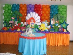 Crepe Decorating Ideas | ayuda con aportaciones fiesta de la sirenita y dejo imagenes ...