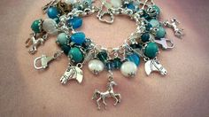 HORSESJl1   Dog   Bracelet  Jewelry  Necklace  by HOBBYHORSELADY, $55.90