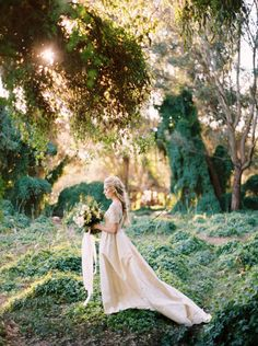 Enchanted forest bridal inspiration | Perth Bridal Inspiration - KATIE GRANT…