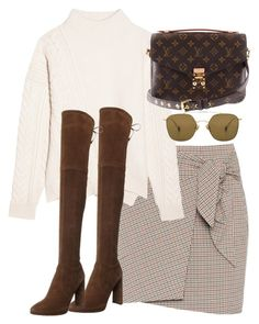 """Untitled #5126"" by theeuropeancloset ❤ liked on Polyvore featuring Étoile Isabel Marant, Jil Sander, Stuart Weitzman, Louis Vuitton and Ahlem"