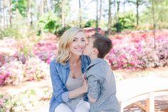 Family Pictures | Raleigh, NC | WRAL Azalea Garden | Santa