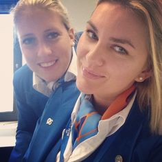KLM Stewardess Crewfie @lclaura1992 on Instagram, pinned via the InstaPin iOS App! http://www.instapinapp.com (02/27/2015)