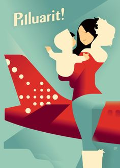 Air Greenland poster on the Behance Network