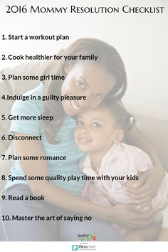 10 resolutions every mom should make for 2016