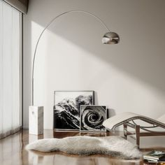 The Flos Arco Floor Lamp, timeless.
