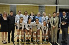 Grand Rapids Community College's volleyball team won NJCAA Division II national title in 2012.