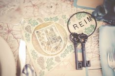 1920s Map and Keys  www.gideonphoto.com