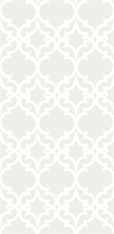 Painted Gate Wallpaper in White and Ivory - Kreme