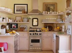 Sweet, compact kitchen