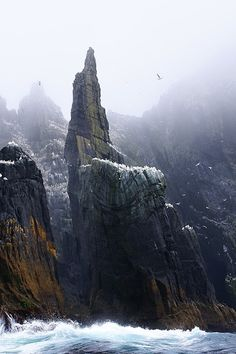 Skellig Michael at Ireland's South-West coast