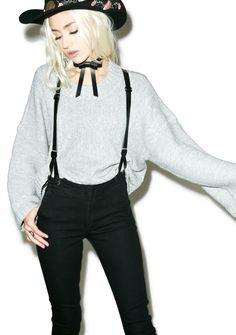 f2316abe3 Courtshop James Skinny Jeans With Suspenders Suspender Jeans