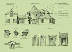 European French Style Homes Jacksonville, FL at Pablo Creek Reserve