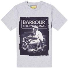 Barbour Steve McQueen Smooth Tee (Grey Marl)