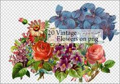 Resultado de imagen para vintage flowers