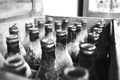 Whenever I see old soda bottles, I think of America back in the old days. They always make me think of vintage Coca-Cola bottles and how the brand is somewhat of an icon. Kadie Clements @Smithsonian Magazine