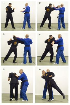 Hapkido self defense technique from Black Belt Magazine