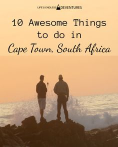 South Africa still has a long way to go before it being considered a wealthy country, but Cape Town is a world-renowned tourist destination with loads to do.