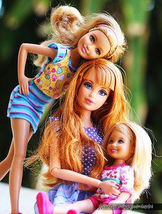 Stacey, Midge and Julie Barbie Dolls Barbie Et Ken, Barbie Kids, Barbie Family, Ken Doll, Barbie Stuff, Vintage Barbie Clothes, Vintage Dolls, Diy Fashion, Fashion Dolls