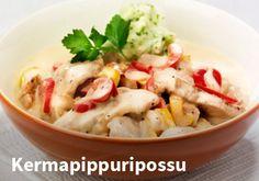 Kermapippuripossu, Resepti: Hookoo #kauppahalli24 #ruoka #resepti #pippuripossu