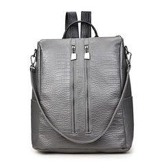 New Fashion PU Leather Backpacks For Teenage Girls 2017 Woman Backpack Designers Sac A Dos Kpop Back Pack Women Brand Bagpack
