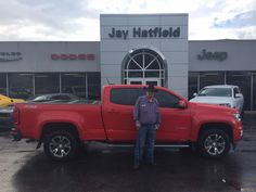 Thank you, RUSSEL AND SANDRA for the opportunity to help you with your new 2015 Chevrolet Colorado!  All the best, Jay Hatfield CDJR and SHAWN STRANG.