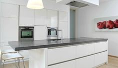 Keuken on Pinterest  Met, Modern White Kitchens and Interieur