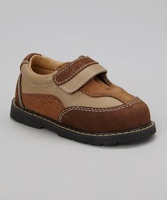 Look at this #zulilyfind! Designer's Touch Brown Justin Shoe by Designer's Touch #zulilyfinds
