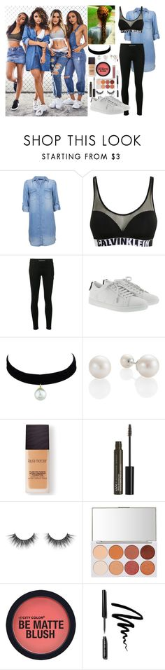 """LM"" by roxxsa ❤ liked on Polyvore featuring Calvin Klein, Yves Saint Laurent, Laura Mercier, NYX and Bobbi Brown Cosmetics"