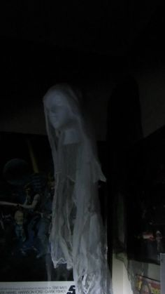 cheesecloth ghost head