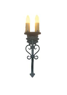 8cd0e0b8c Lizanne Double Candle. Peach BathroomCandle SconcesWall SconcesWrought IronBuilding  ...