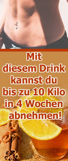 With this drink you can lose up to 10 kilos in 4 weeks .- Mit diesem Drink kannst du bis zu 10 Kilo in 4 Wochen abnehmen! – Healthy Life… With this drink you can lose up to 10 kilos in 4 weeks! Fitness Workouts, Fat Burning Detox Drinks, Weight Loss Detox, Lose Weight, Calories, Detox Recipes, Diet And Nutrition, Healthy Drinks, Natural Health