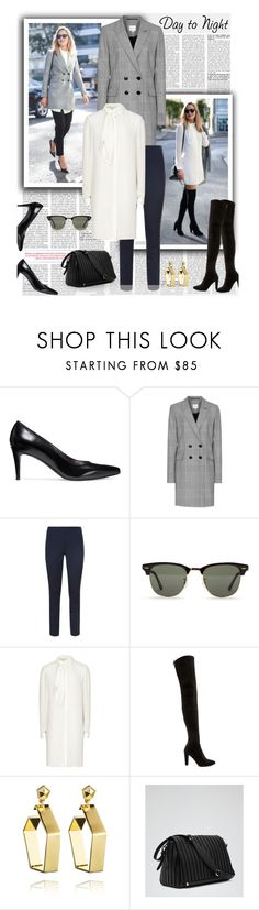 """Day to Night Look..."" by unamiradaatuarmario ❤ liked on Polyvore featuring Stuart Weitzman, Reiss, Elie Tahari, Eddie Borgo, women's clothing, women's fashion, women, female, woman and misses"