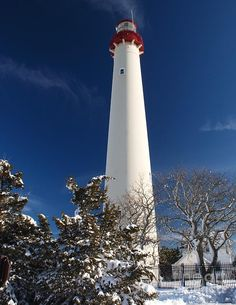 ✯ Cape May Lighthouse in Winter - NJ